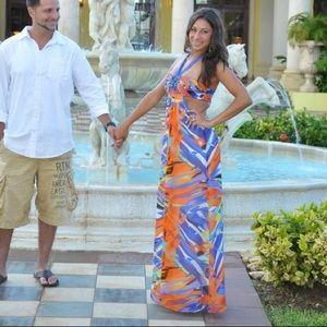 BCBG mazazria island dress